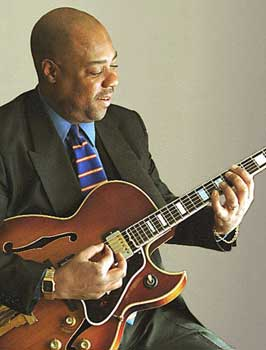 Jazz guitarist Eric Johnson has a passion for music.